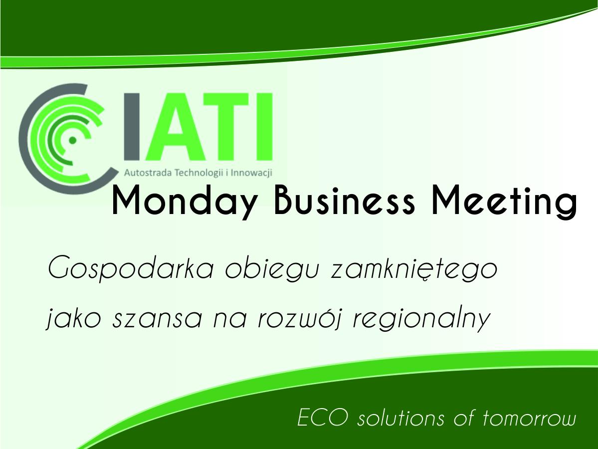 TGM Business meeting
