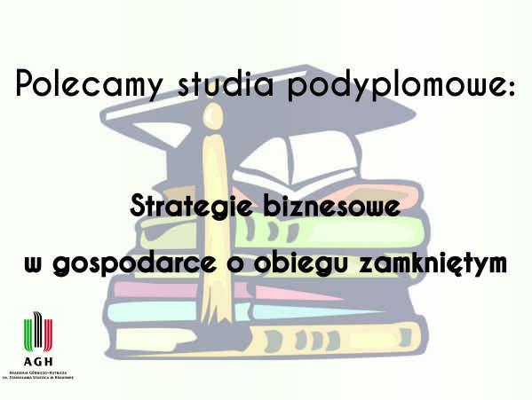TGM poleca studia podyplomowe